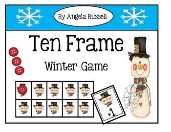 Ten Frame ~ Winter Game