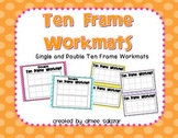 Ten Frame Workmats {FREEBIE}