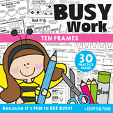 Ten Frames {Fun No Prep Worksheet Activities}