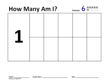 Ten Frame Worksheets for Kindergarten