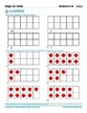 Ten Frame Worksheets - recognition of numbers to 10