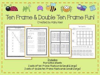 Ten Frame and Double Ten Frame Fun!