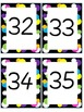 Ten Frame and Number Flashcards