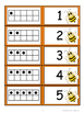 Ten Frame and Number Match Cards