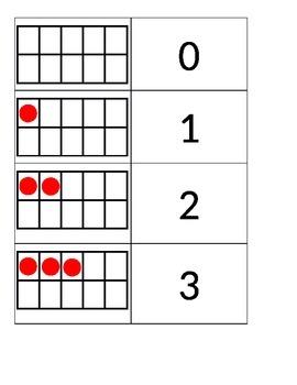 Ten Frame for 0 - 20
