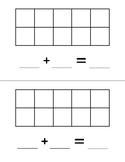 Ten Frame with Math Statement