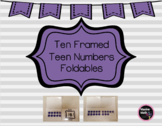 Ten Framed Teen Numbers Foldables