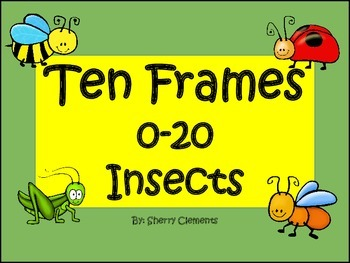 Insects Ten Frames