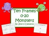 Monster Ten Frames 0-20