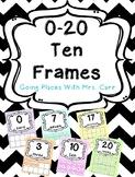 Ten Frames Posters 0-20
