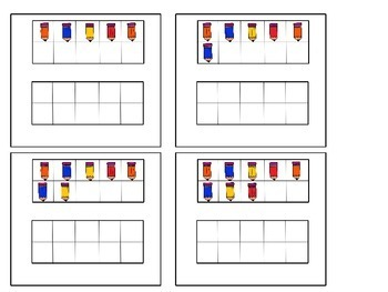 Ten Frames Center Activity