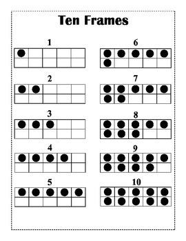 Ten Frames 1-10