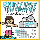 Ten Frames 1-10 Kindergarten Math Center Spring Theme Numb
