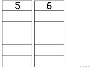 Ten Frames 1-10 Sorting Activity (Includes Touch Math Support)