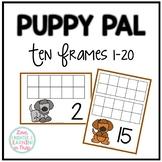 Ten Frames 1-20 {Puppy Themed}