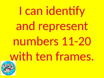 Ten Frames 11-20 Powerpoint Lesson