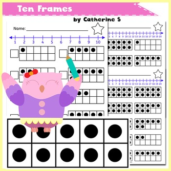 Ten Frame Worksheets