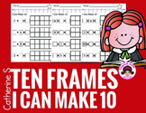 Ten Frames Worksheets