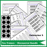 BUNDLE: Ten Frames Worksheets