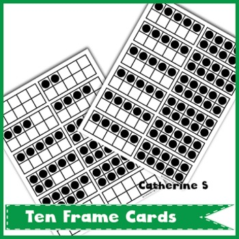 Ten Frame Cards