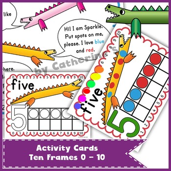 Ten Frames Task Cards