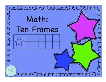 Ten Frames (with numbers and blanks)