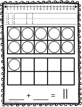 Ten Frames Addition and Subtraction