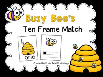 Numbers 1-10 - Ten Frame Activities and Centers