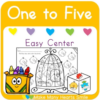 One to Five Dice Game