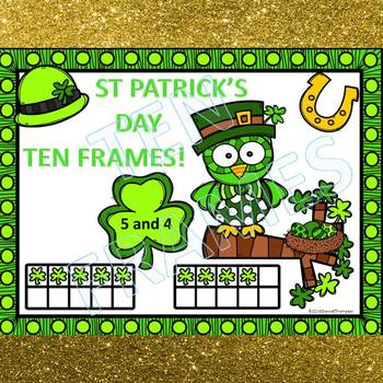 """Dab or Color """"St Patrick's Day"""" (Ten Frames)"""