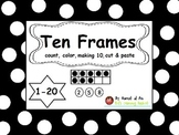 Ten Frames Activity from 1-20