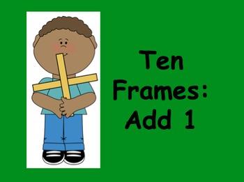 Ten Frames Add One PowerPoint