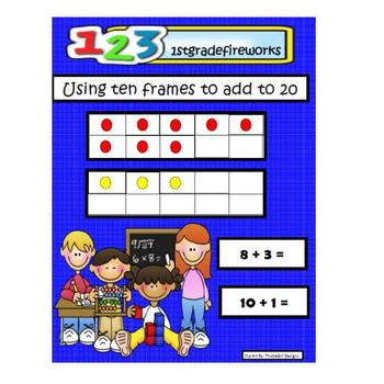 Ten Frames Adding to 20