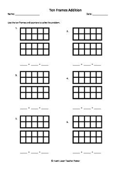 free worksheets tens frames worksheets free math worksheets for kidergarten and preschool. Black Bedroom Furniture Sets. Home Design Ideas