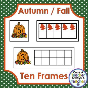 Ten Frames • Autumn / Fall