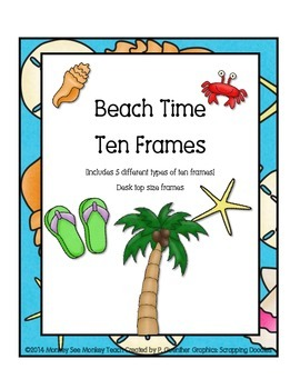 Ten Frames ( Beach Theme)