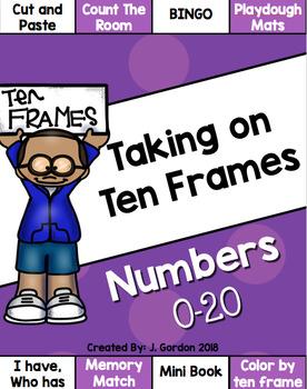 Ten Frames Bundle - Numbers 0-20