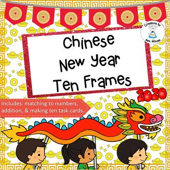 Ten Frames - Chinese New Year Ten Frames