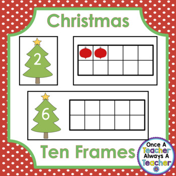 Ten Frames • Christmas