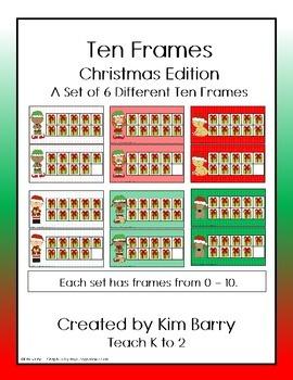 Ten Frames- Christmas Edition