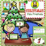 Ten Frames Christmas Theme