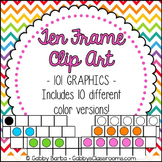 Ten Frames Clip Art {101 Pieces!}