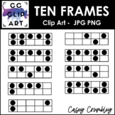 Ten Frames Clip Art Over 100 Ten Frames HUGE Set
