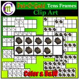Ten Frames Clip Art  Pot of Gold