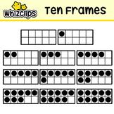 Ten Frames Clipart