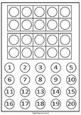 Ten Frames - Counters (A4)