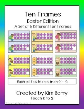 Ten Frames- Easter Edition