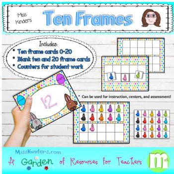 Ten Frames Easter Theme