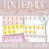 Ten Frames Easter Theme
