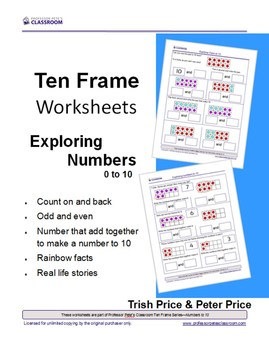 Ten Frames - Exploring Numbers to 10